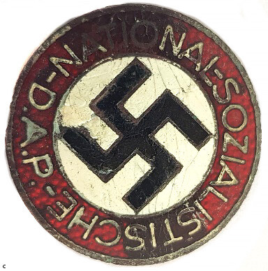 Party Badge of NSDAP / from Tilzit