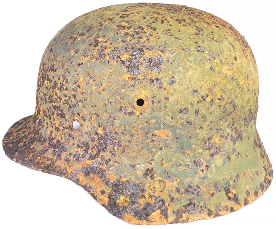 German helmet M35 / from Belarus
