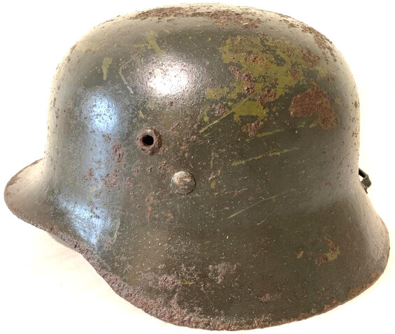 Hungarian helmet M37 / from Voronezh