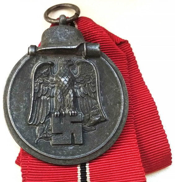 Eastern front medal with ribbon