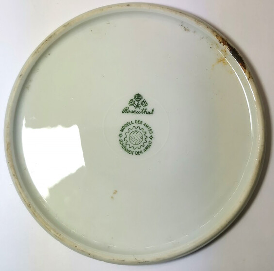 The bottom of the Third Reich dishes from Konigsberg