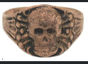 Skull ring / from Novgorod