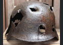 German helmet M35 / from Kalinin