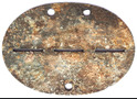 German dogtag 3.J.E.Btl.mot.156 / from Stalingrad