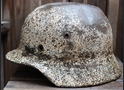 Winter camo helmet M40 / from Kalinin
