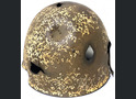 Winter camo Soviet helmet SSh39 / from Stalingrad