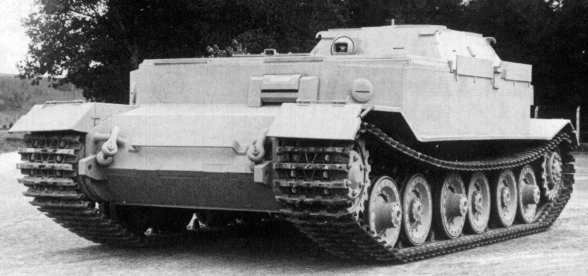 Bergetiger (P) - one of the three BREM based on VK 45.01 (P)