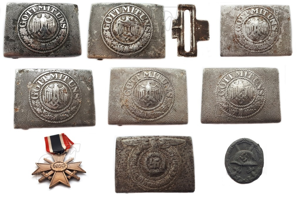 German buckles from the Eastern front of WW2 for sale