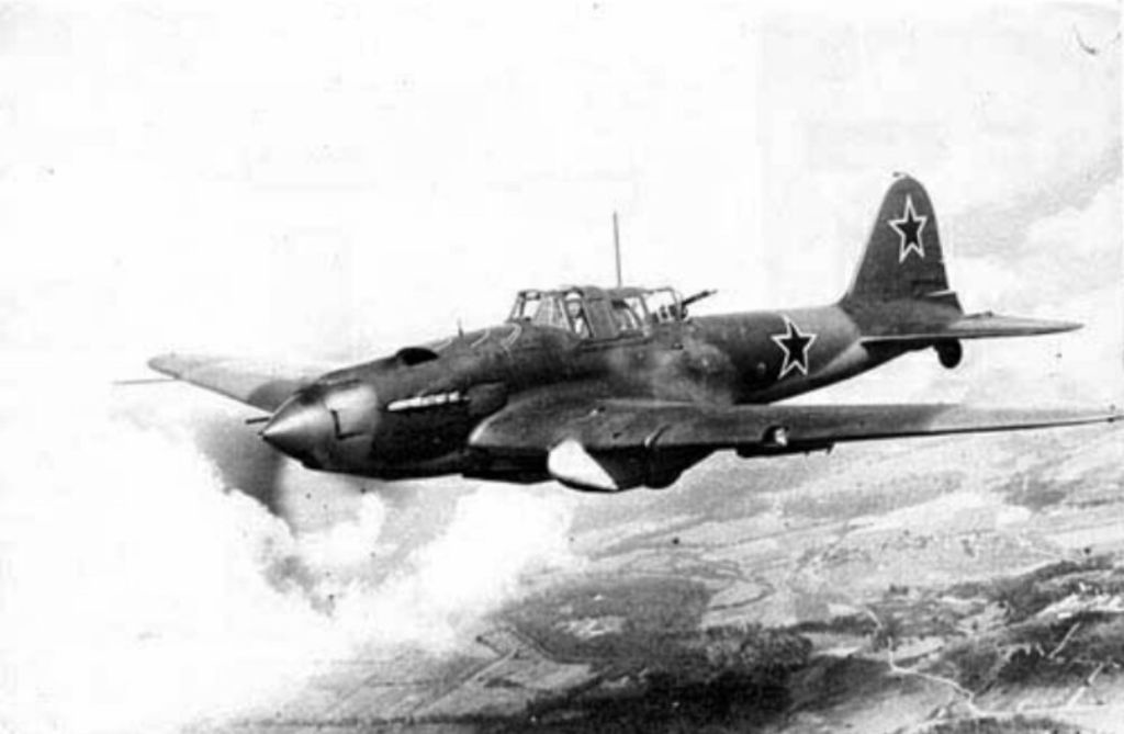 IL-2 Black Death ground-attack aircraft of WW2