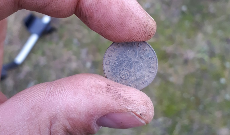 Coin 3 Reich - was found in a field In Rossoshka