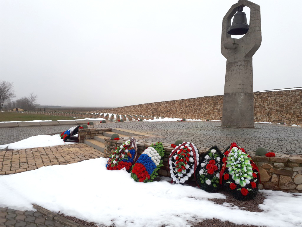 Soviet part of the cemetery