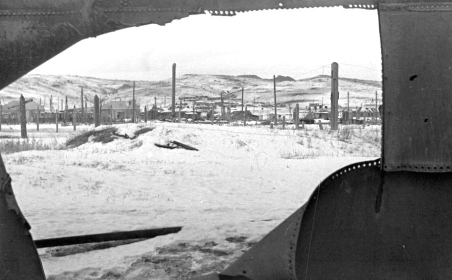 View on Mamayev Hill after the battle. December 1942.