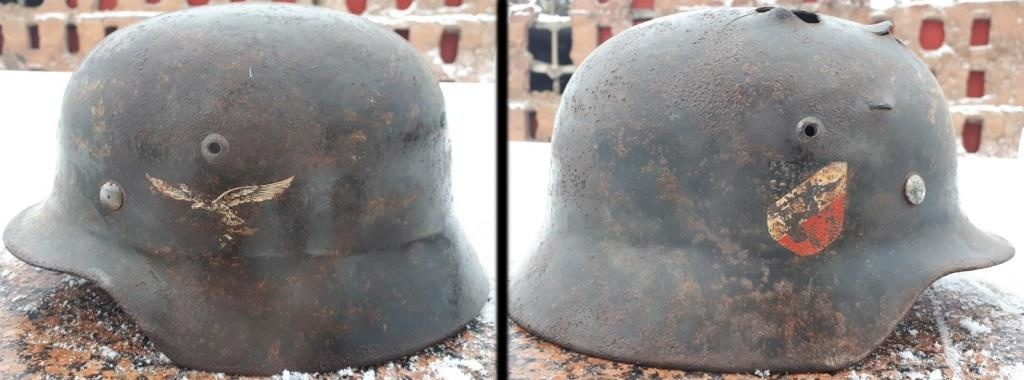 German steel helmet M-35 Luftwaffe