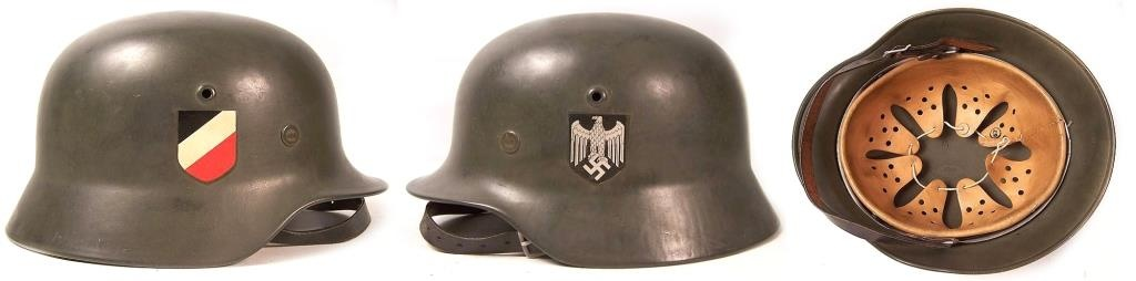 German steel helmet M35