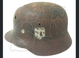 German helmet М35 from village Orlovka