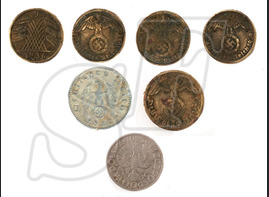 Set of 7 coins
