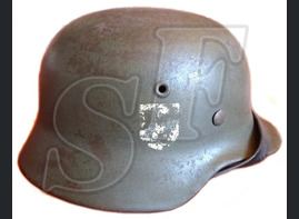 German helmet M40 / 5th SS Panzer Division Wiking