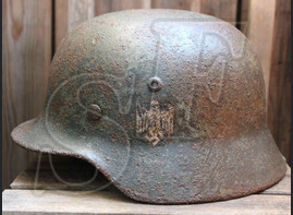 German helmet М40 from Taganrog