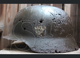 German helmet М35 Order Police (Ordnungspolizei)