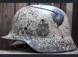 German helmet М40 from Stalingrad