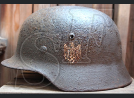 German helmet М35 from Tver region