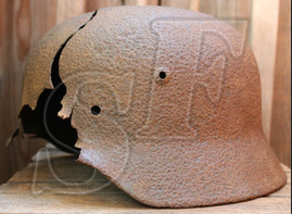 German helmet M35 from Königsberg