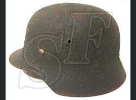German helmet M35 from Stalingrad region
