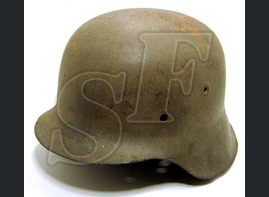 German helmet M42 from Koenigsberg