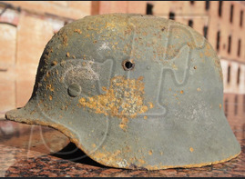 German helmet M35 from Gorodishche district of Stalingrad