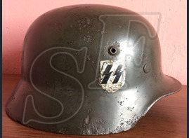 German helmet M35 from Demyansk Pocket
