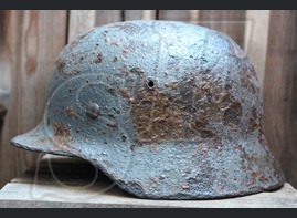 German helmet M35 from Tver region