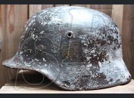 German helmet M40 from Karelia