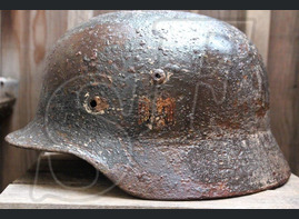 German helmet M35 from Karelia