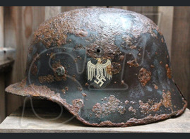 German helmet M35 from Smolensk region