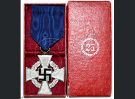 The Cross of 25 Years of Civil Service
