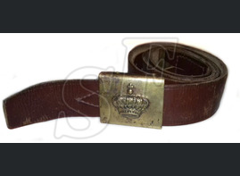 Romanian belt with buckle
