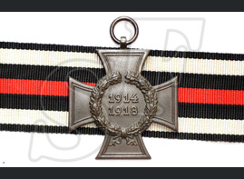 The Honour Cross of the World War 1914/1918 (the Hindenburg Cross)