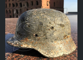 "German helmet M35 ""Winter camouflage"" / Stalingrad"