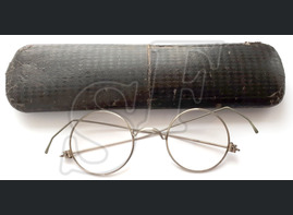 Glasses with case, 3 Reich