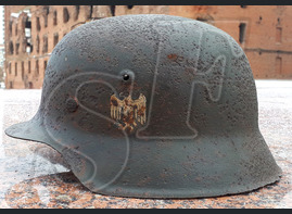 German helmet М42 / from Koenigsberg