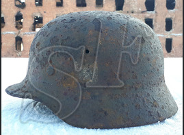 Helmet М40 / from Stalingrad