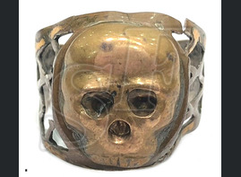 Skull ring, 3 Reich / from Stalingrad