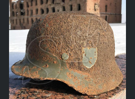 Helmet М40, Wehrmacht / from Stalingrad