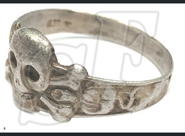 Skull ring / from Stalingrad
