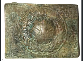 "Buckle ""Gott mit Uns"", Weimar Republic / from Stalingrad"