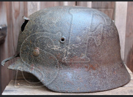 Helmet M40, Luftwaffe / from Rostov