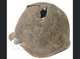 Steel helmet SSH40 / from Stalingrad