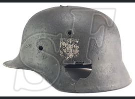German helmet M40 / from Novgorod