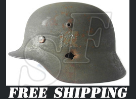 German helmet M35 / from Krasnodar