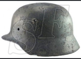 German helmet M40 / from Leningrad